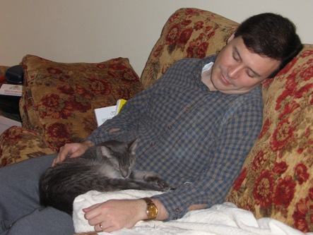 Padre and Daddy sleeping